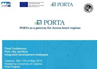 """Conferenza Finale """"Porto, città, territorio. Strategie di sviluppo integrato"""""""