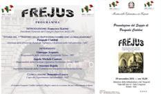 FREJUS. PRESENTAZIONE DEL SAGGIO DI PASQUALE CIALDINI