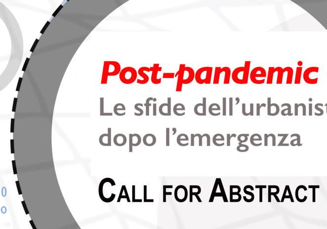 Convegno Inu Sezione Sicilia: Post-pandemic Cities. Le sfide dell'urbanistica dopo l'emergenza. Palermo 8-9/10/2020