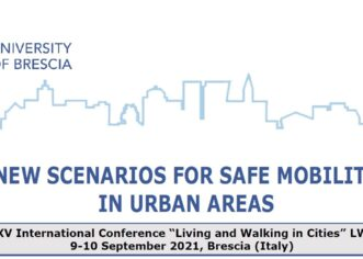"Call for paper Conferenza Internazionale ""Living and Walking in cities 2021"""