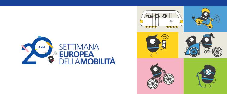 Settimana Europea della Mobilità (European Mobility Week – EMW) 16 – 22 settembre 2021