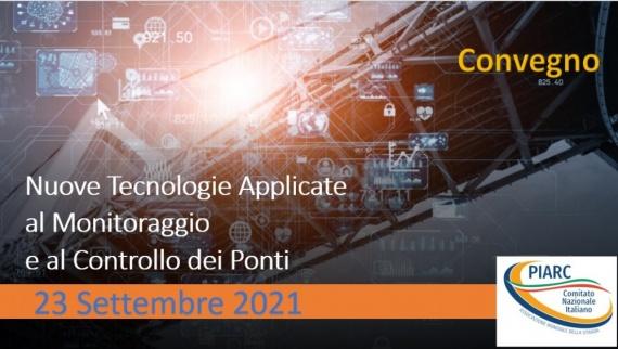 23 settembre – Convegno Nuove Tecnologie Applicate al Monitoraggio e al Controllo dei Ponti