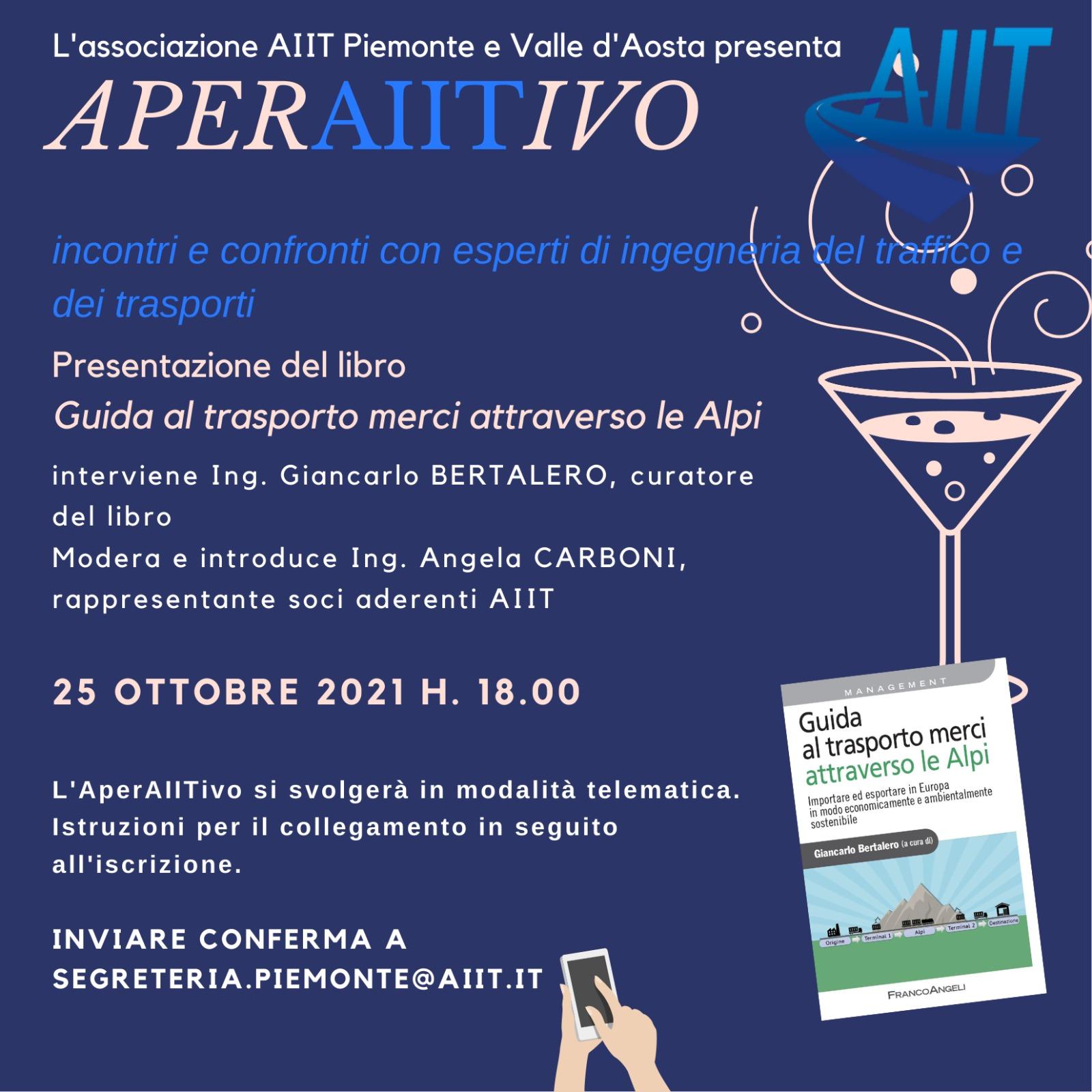 AperAIITivo sezione Piemonte e Valle d'Aosta – 25 ottobre